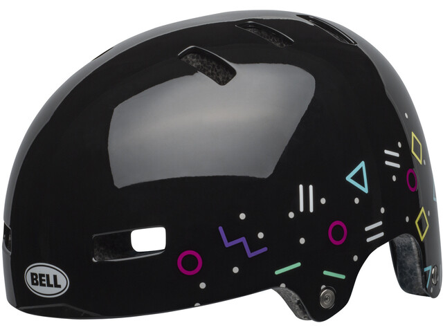 Bell Span Helmet Kinder radical black